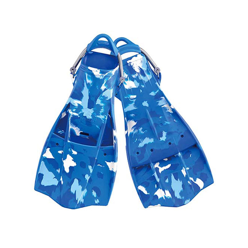 Problue F749C Rubber Diving Fins with Camouflage