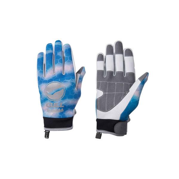 Gull SP Gloves Camo Blue