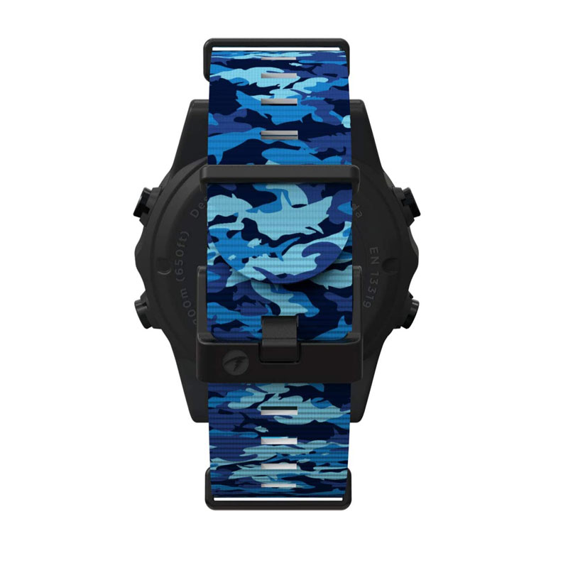 Shearwater Teric Strap Camo Blue