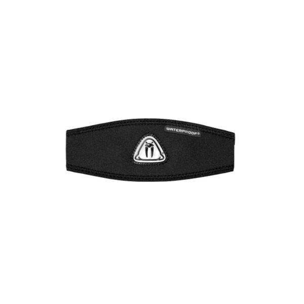 Waterproof mask strap cover