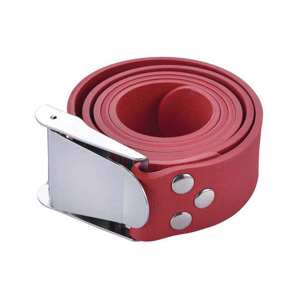 Problue Rubber Weightbelt red