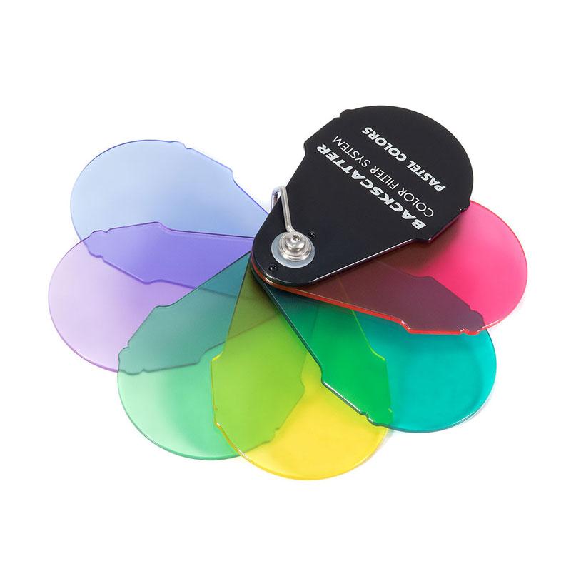 Backscatter Colour Filter System Pastel